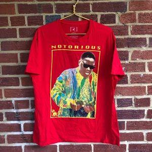 Notorious B I G biggie shirt